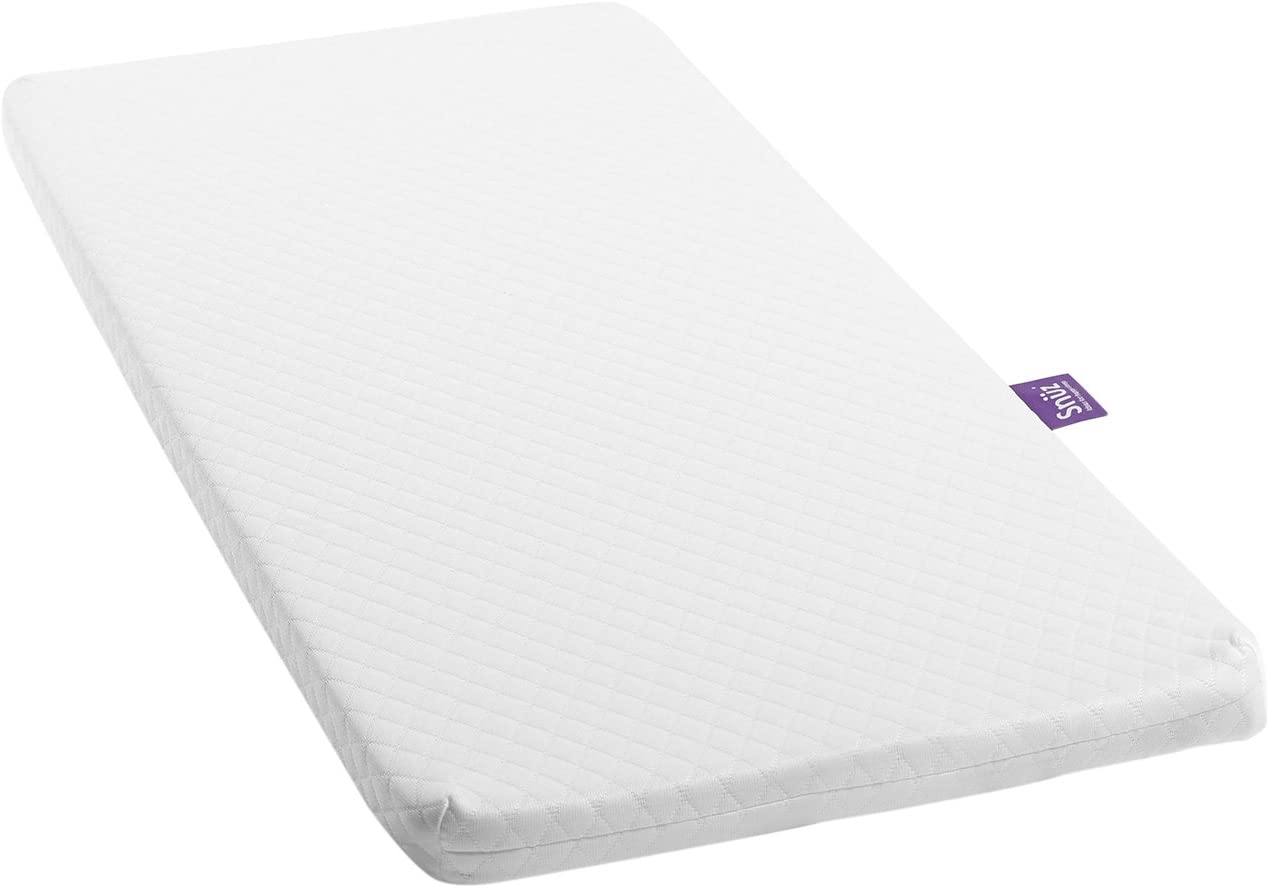 SnuzPod2 colch/ón de espuma premium blanco blanco Talla:36 cm x 80 cm
