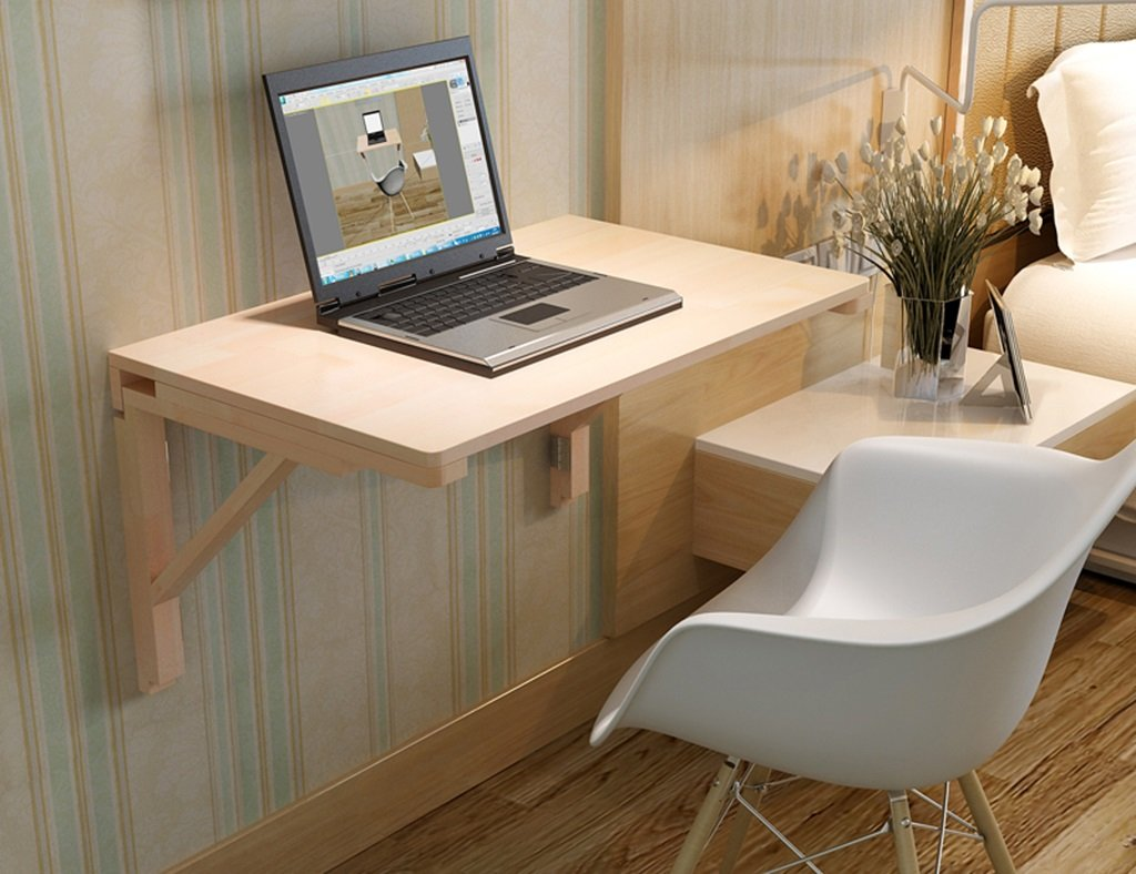 ラーニングテーブルダイニングテーブルウッディー折り畳み式コンピュータテーブルアイロンブラケット壁掛けテーブル壁掛けラップトップデスクサイズオプション ( サイズ さいず : 80*40cm ) B07B73KXT4 80*40cm 80*40cm