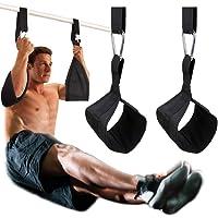 DOBEN Hängande från straps armöglor för magträning med snabbspännings-D-ring, slitstarka träningsbälten magremmar par…