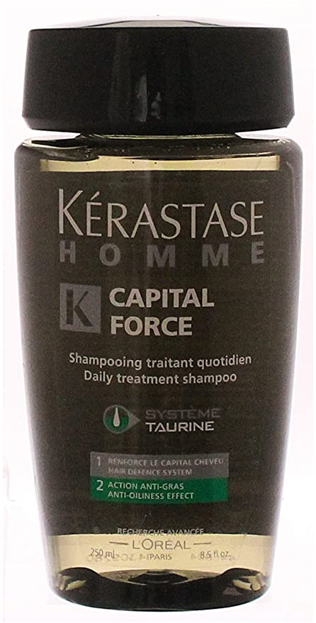 Kerastase Homme Capital Force Anti Champú - 250 ml