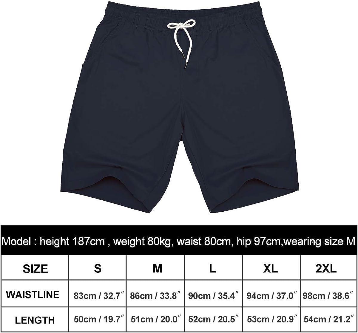 Arcweg Shorts Herren Kurze Hose Chino Elastisch Atmungsaktiv Freizeit Shorts Sommer Baumwolle Sport Shorts Jungen Mit Gummizug Wanderhose Regular Fit