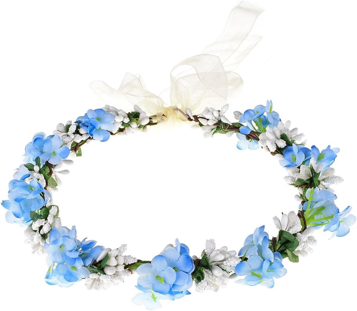 Love Sweety Nature Flower Crown Fruit Headband Boho Garland Wedding Photo Prop