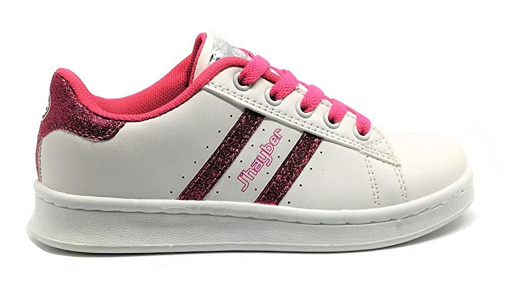 Jhayber Deportivo Cambian de Color Blanco-Rosa: Amazon.es: Zapatos y complementos
