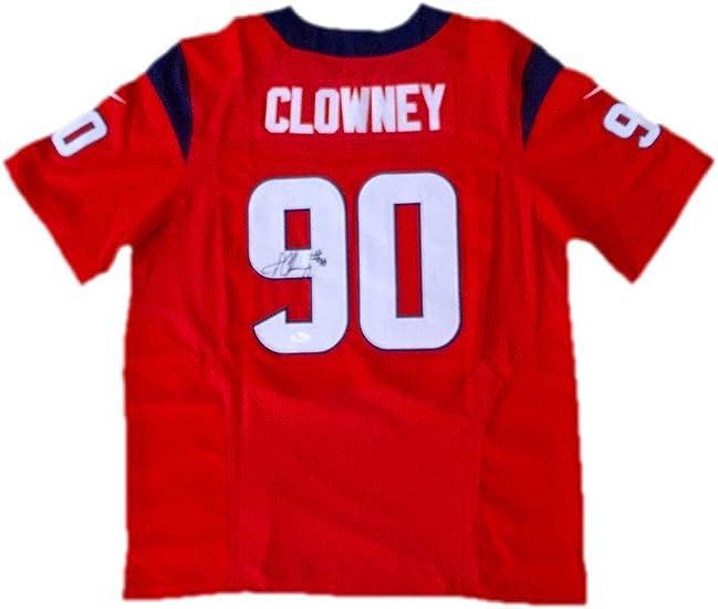 Jadeveon Clowney Houston Texans (Alternate Red) Signed Jersey Jsa ...