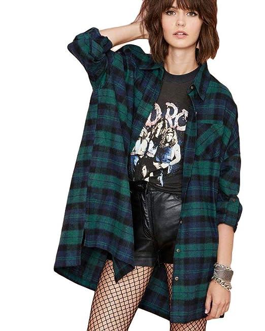 Mujer Blusas Talla Grande Primavera Otoño Shirts Elegantes Moda Túnica Festivo Anchas Casuales Hipster Manga Larga