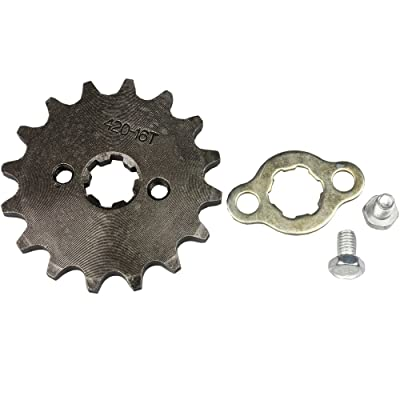 Wingsmoto Sprocket Front 420-16T 17mm Motorcycle ATV Dirtbike: Automotive [5Bkhe1003127]