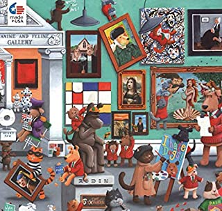 product image for Ceaco 2224-5 Paws & Claws Gallery Puzzle - 300Piece