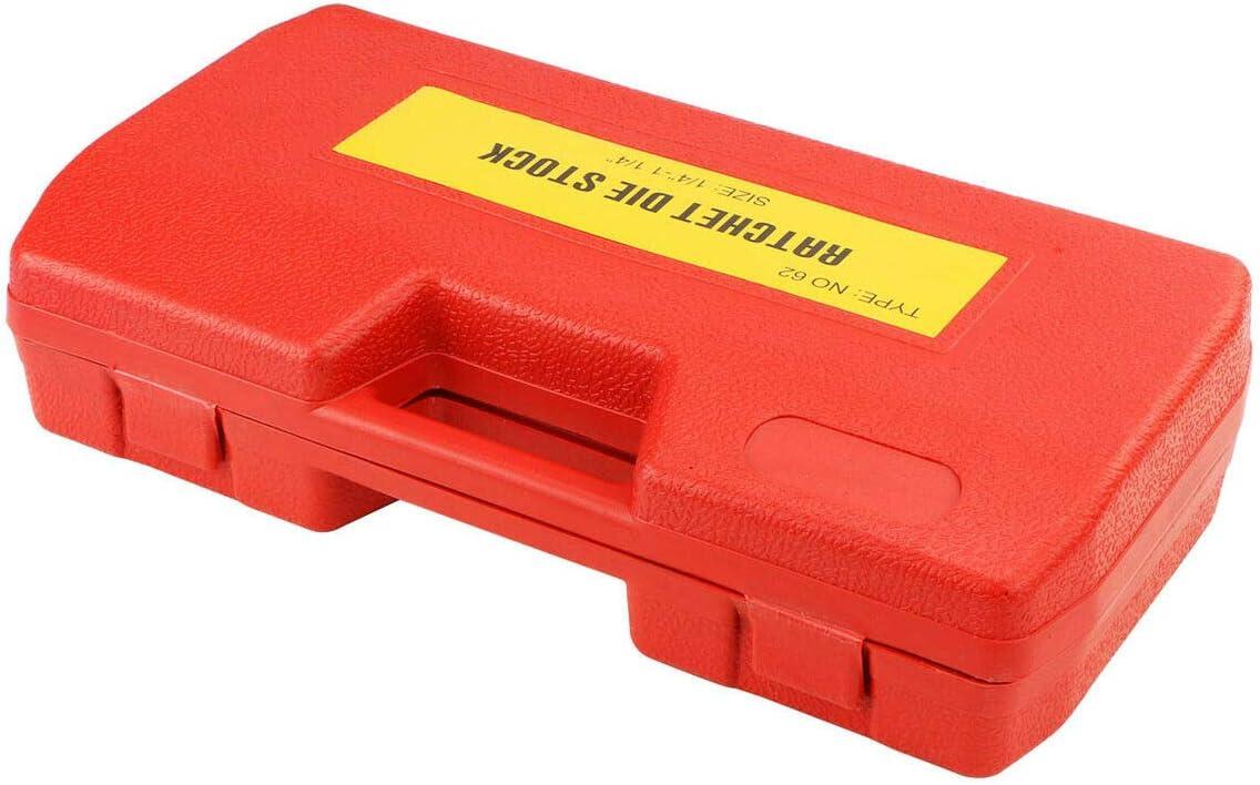 New Ratchet Pipe Threader Kit Set Ratcheting w//6 Dies and Storage Case