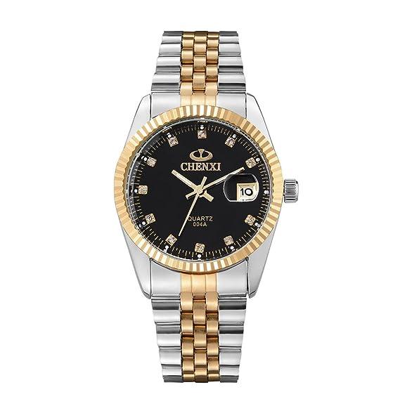Chenxi 004 A reloj oro Top marca Luxury famoso impermeable de acero inoxidable reloj de cuarzo