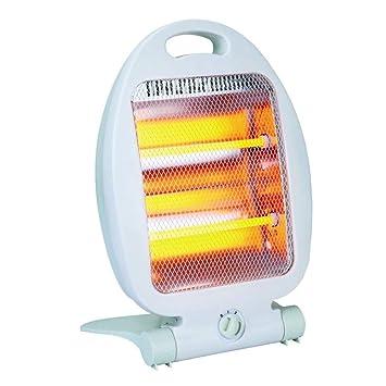 Aliespain Estufa Calefactor Halógeno Portable 2 Barras 400/800W: Amazon.es: Hogar