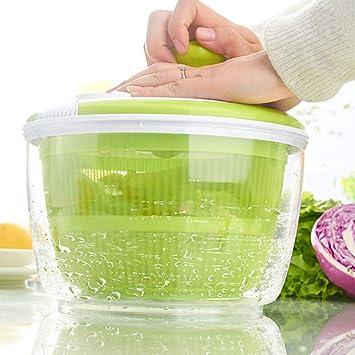 Licuadora para insalata- Lettuce Dryer/facilmente Spin & Dry Ensaladas y verduras