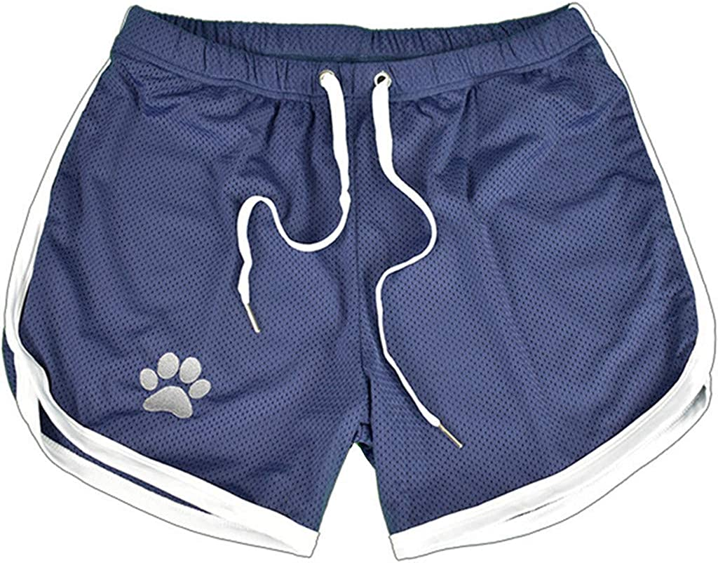 UOFOCO Men's Summer Casual Quick-Drying Shorts Breathable Drawstring Sport Short Pants |