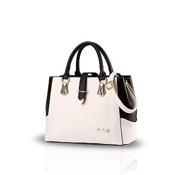 2a2a86ab7d993 Nicole   Doris 2019 Handtaschen für Frauen Tasche Damen Tragetaschen für  Damen Schultertaschen Cremeweiß