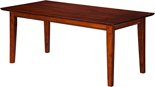 Atlantic Furniture Shaker Coffee Table, Walnut