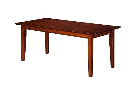Incroyable Atlantic Furniture Shaker Coffee Table Walnut