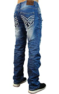 Affliction Jeans Ace Ascended Tacoma Dark Blue