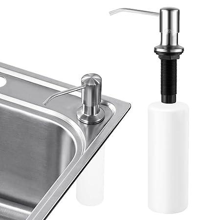 sink soap dispenser cozzine stainless steel kitchen sink countertop rh amazon co uk Bottle Soap Dispenser Kitchen Sink kitchen sink accessories soap dispensers