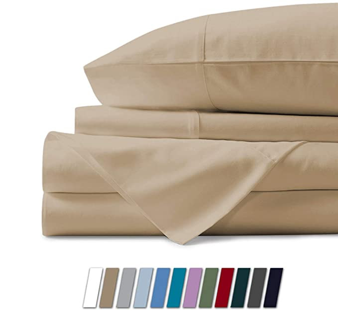 Mayfair Linen 100% Egyptian Cotton Sheets - Sleek and Premium Quality