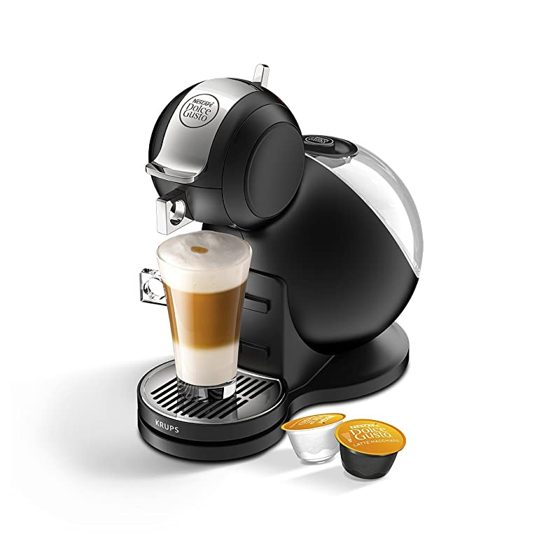 Krups Nescafe Dolce Gusto Melody 3 Manual Coffee Machine - Black ...