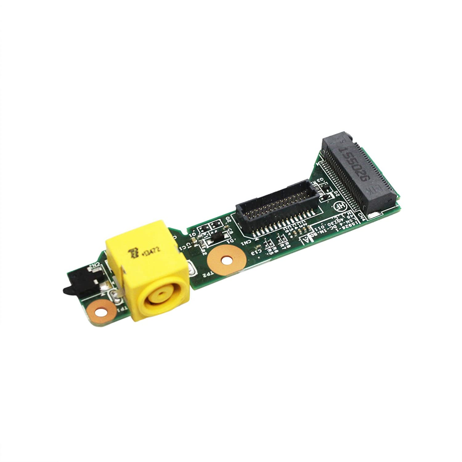 GinTai Replacement for Lenovo Thinkpad T420S T430S Card DC-in Power Jack Board Connector 04W1699