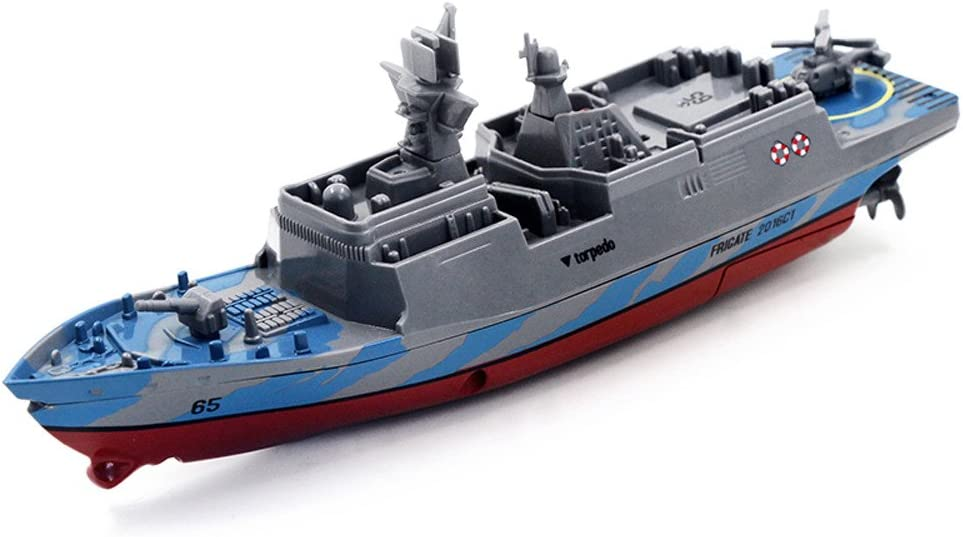 BHYDRY Remote Control Challenger Aircraft Carrier RC Boat Warship Battleship