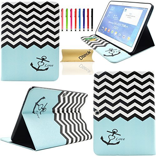 T530 Case,Galaxy Tab 4 10.1 Case, Dteck(TM) Ultra Slim Colorful Painting...