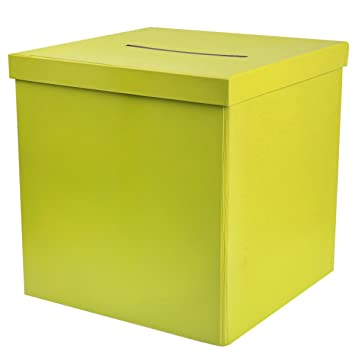 Buzon de correo & / caja/caja de regalo para tu boda - verde