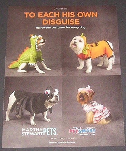lot-of-3-print-ads-petsmart-dogs-in-halloween-costumes-original-magazine-advertisements-collectible-