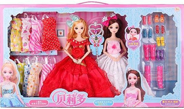 Amazon.es: Ropa Vestido de fiesta Trajes para muñecas + Accesorios ...