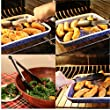 Silicone Kitchen Barbecue Grill Tongs