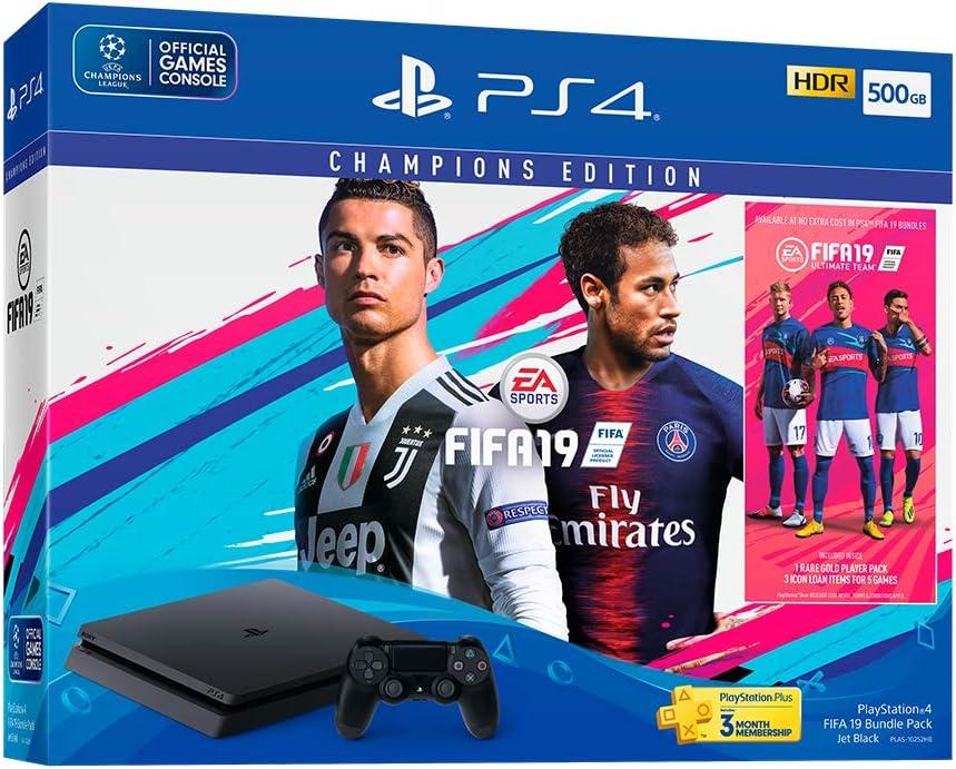 Sony PlayStation 4 FIFA 19 Bundle Pack Negro 500 GB Wifi ...