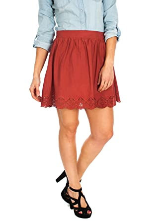 Falda Only Madison Marsala 42 Granate: Amazon.es: Ropa y accesorios