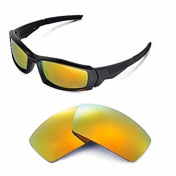 Walleva Ersatzgläser für Oakley Antix Sonnenbrille - Mehrfache Optionen (Lila polarisiert) dttYj1