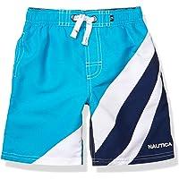 Nautica Boys' Swim Trunk with Upf 50+ Sun Protection