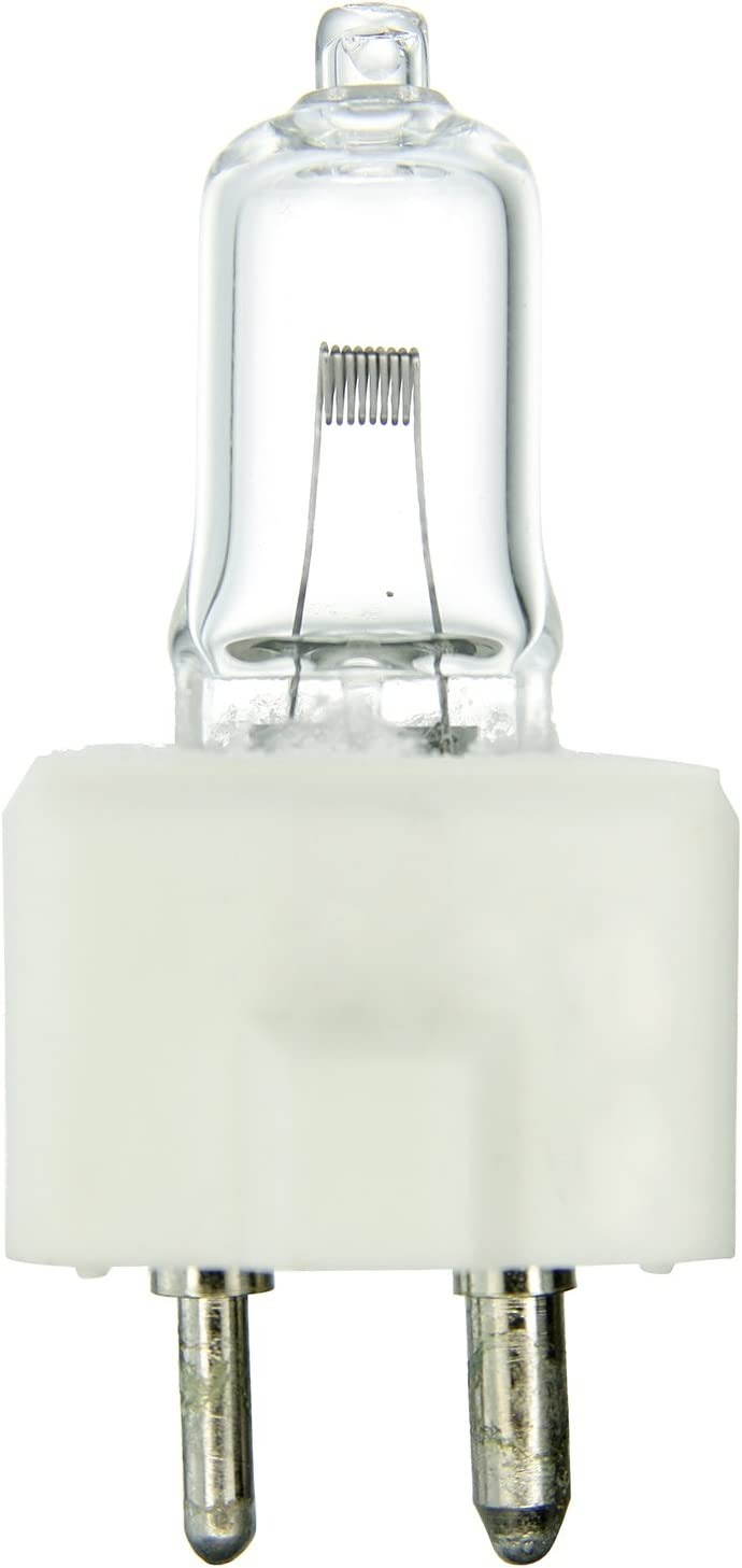 Clear Sunlite FDT 100W//T3.5//12V//CL//GZ9.6 100-watt 12-volt Bi-Pin Based Stage and Studio T3.5 Bulb