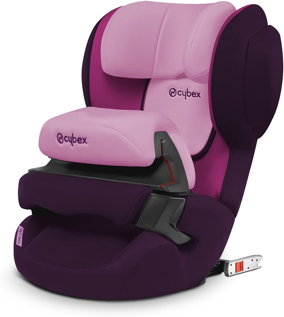 Cybex Silver Juno 2-Fix 517000961 Silla de Coche Grupo 1 con Isofix Purple Rain Morado