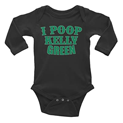 d8ff11f3d ... Stripe Ruffled Pullover T-Shirts,Super Thin Spring Autumn Turtleneck  Sweater. Now:$19.99$23.99. Generation T I Poop Kelly Green Infant Long  Sleeve ...