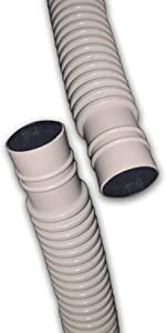 50 Ft Drain Hose for Ductless Mini Split Air Conditioner Heat Pump Systems; 5/8 ID UV Resistant