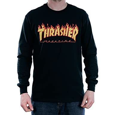 Amazon es Hombre Accesorios Ropa Magazine Para Thrasher Camiseta Y FnIXUqn6
