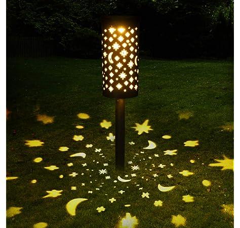 50 LED] Luces solares de jardín, cadena de luces de hada de abeja ...