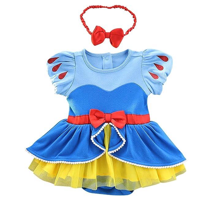Amazon.com: IZKIZF - Disfraz de princesa de cumpleaños para ...