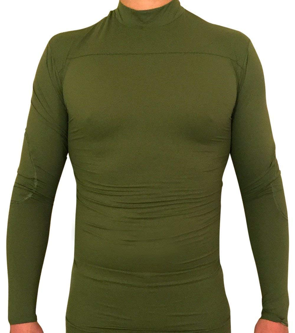 RYNOSKIN: Mosquito & Tick Protection. Tactical & Hunting Clothes Great Against Biting Insects, Hunting Accessories & Gear, Fishing, Camping & The Outdoors - Shirt, Green, Large by RYNOSKIN