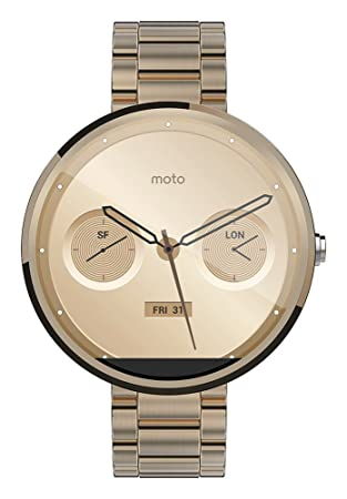 Smartwatch Motorola Moto 360 Metal Edition: Amazon.es: Electrónica