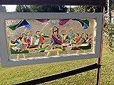Stained Glass Christian Window Art Sun Catcher, The Last Supper, Jesus Art