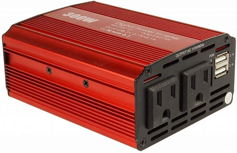 Akarui Electy 300W Car Power Inverter - photo
