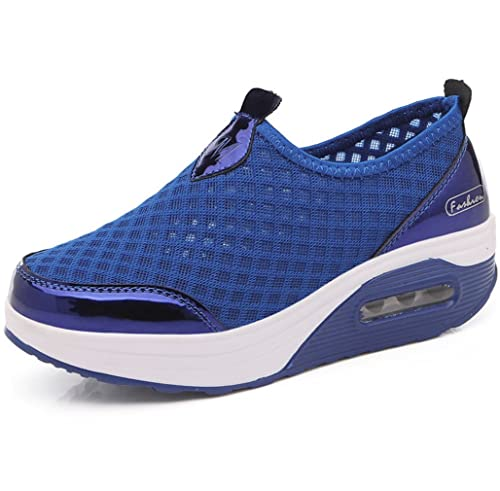 Sneakers blu per donna Solshine 9B7T9eKb