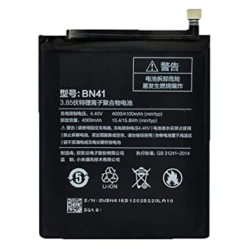 Theoutlettablet - Battery BN41 for XIAOMI REDMI Note 4 4000 ...