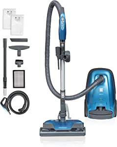 Kenmore BC3005 Pet Friendly Lightweight Bagged Canister Vacuum Cleaner with Extended Telescoping Wand, HEPA, Retractable Cord, and 4 Cleaning Tools