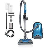 Kenmore BC3005 Pet Friendly Lightweight Bagged Canister Vacuum Cleaner with Extended Telescoping Wand, HEPA, 2 Motors…