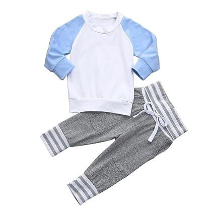 janly 0 - 2 años Niño recién nacido bebé Tops Pantalones, lässige ...